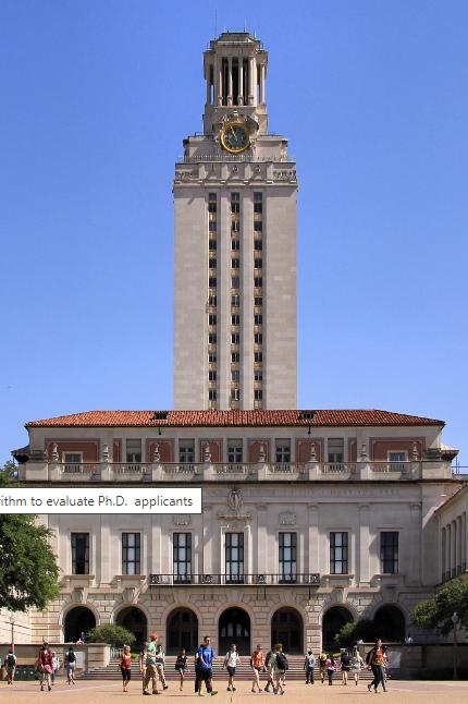 Texas of university